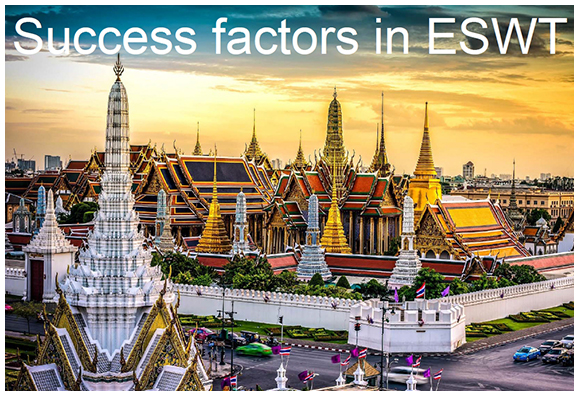 Success factors in ESWT